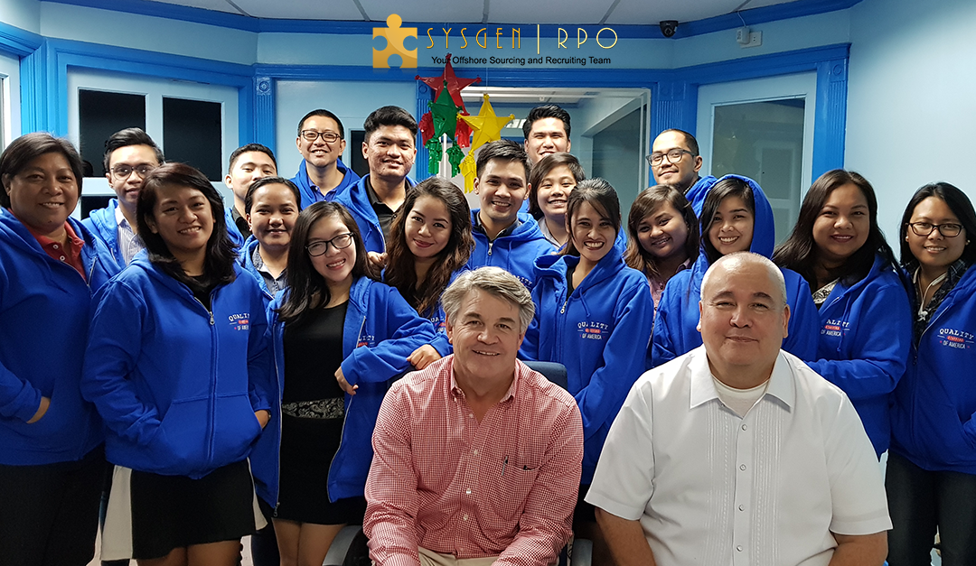 Sysgen RPO Welcomes Quality Staffing of America President To Manila