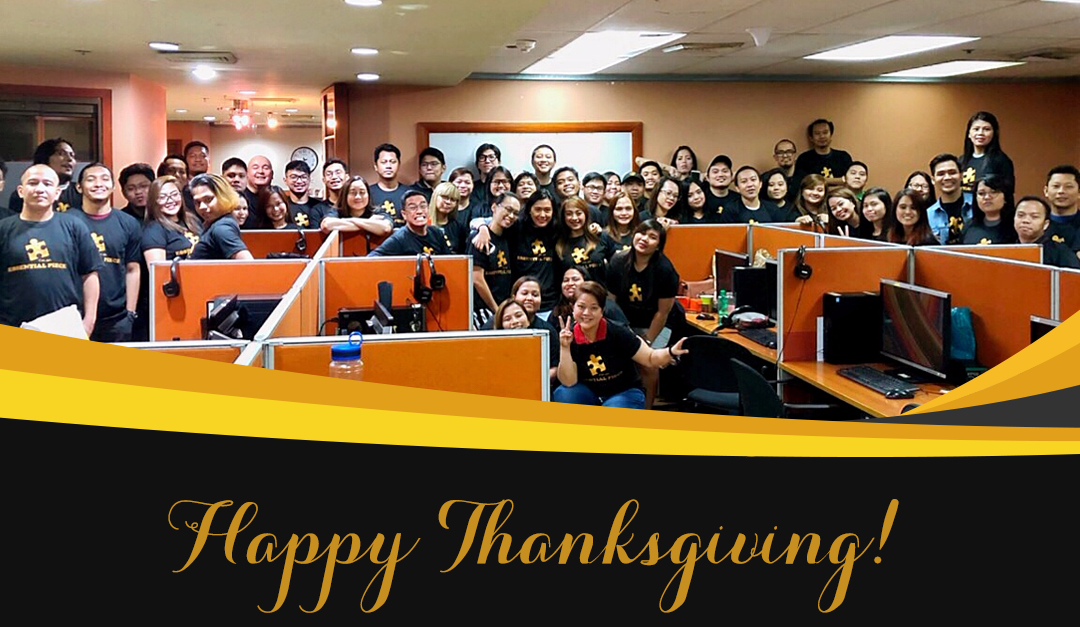 What We Are Thankful for This 2018 As An Offshore RPO Company
