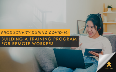 Productivity During COVID-19: Building a Training Program for Remote Workers